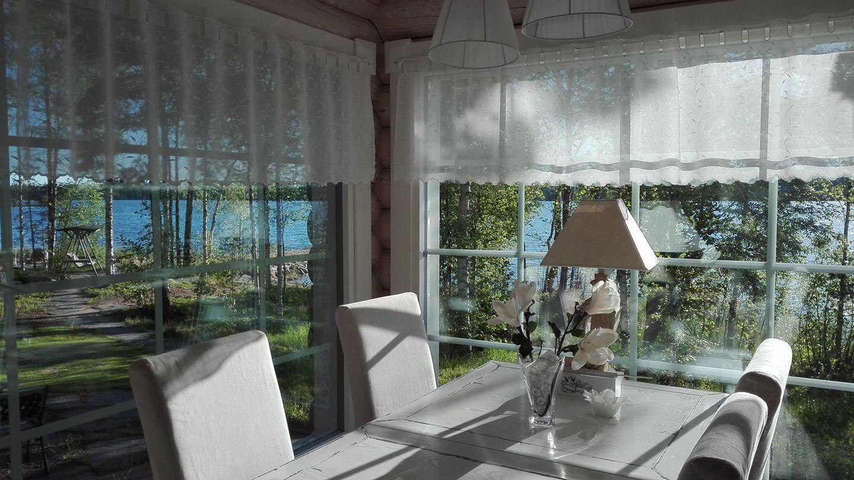 Hienosen lomamökit cottages in Punkaharju