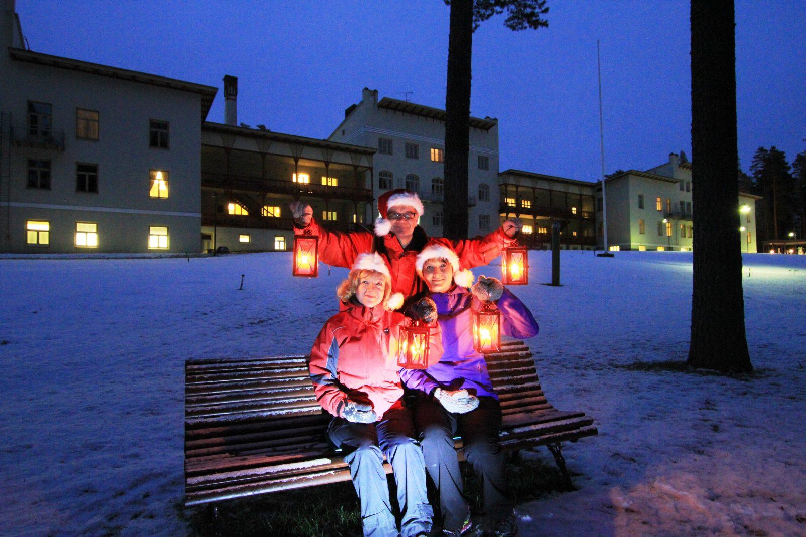 Kruunupuiston joulu Punkaharjulla 23.-26.12.