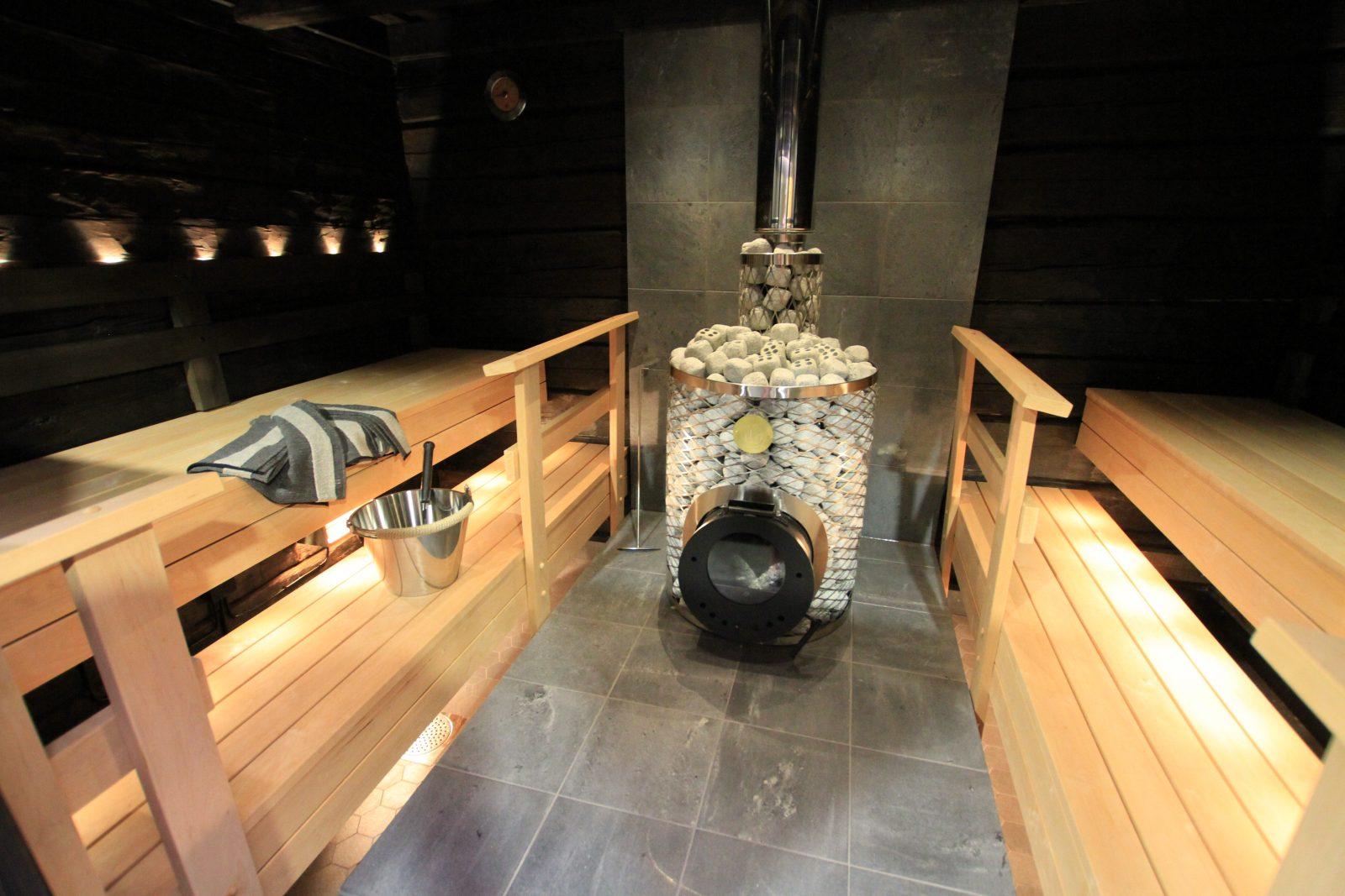 Inkeritalon sauna Punkaharjulla