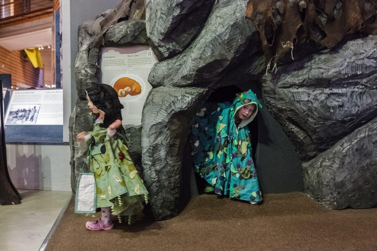 Metsämuseo Luston syntymäpäiväpaketti lapsille