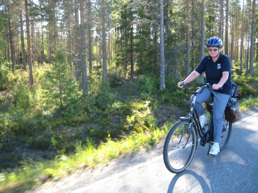 Pyöräillen Puruveden ympäri