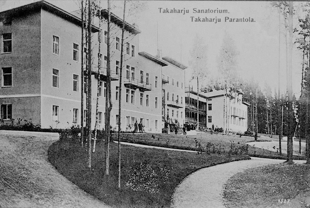 Takaharjun parantola (nyk. Kruunupuisto)