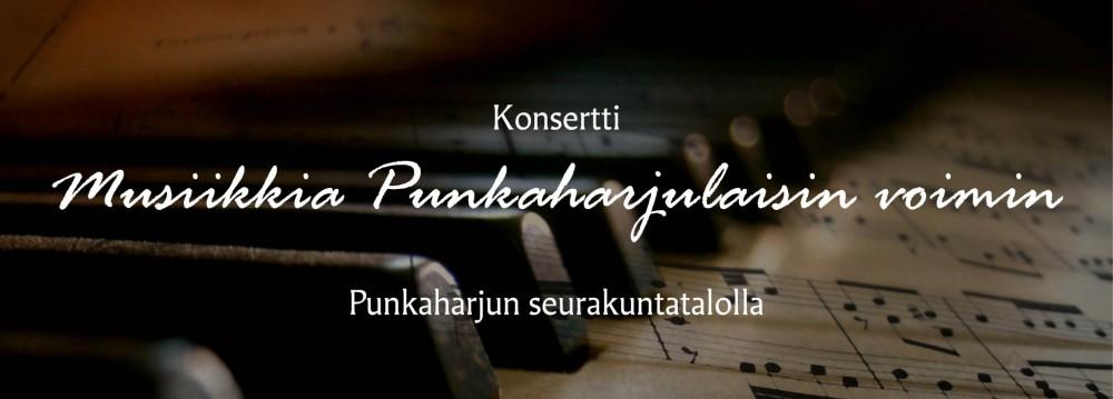 Musiikkia Punkaharjulaisin voimin -konsertti