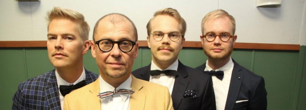 """Sami Saari & Jazzpojat sekä trumpetisti Mikko """"Gunu"""" Karjalainen"""