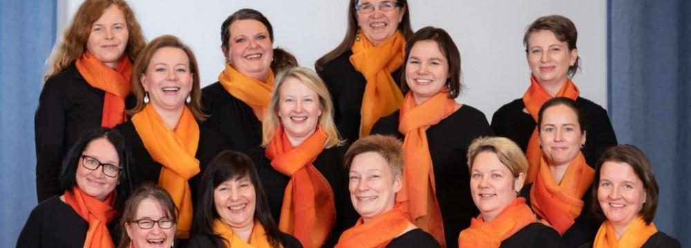 Bel Canto -naiskuoron jouluinen lounaskonsertti