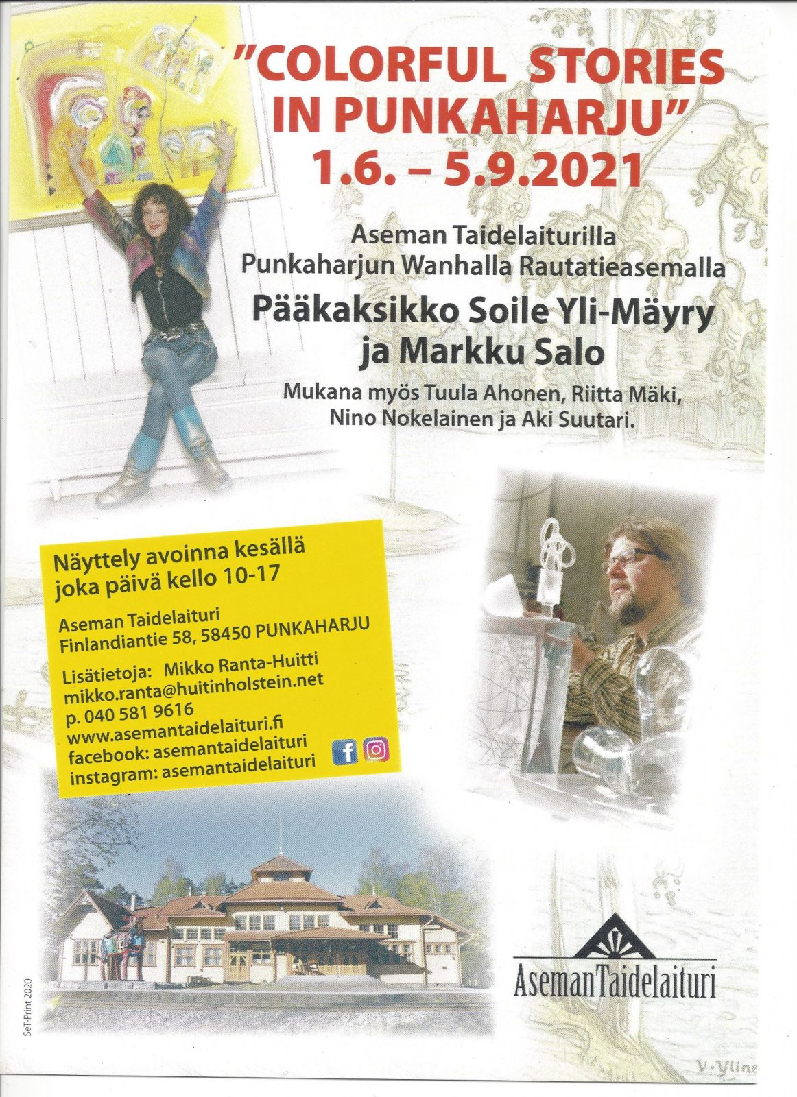 Colorful Stories in Punkaharju 2021