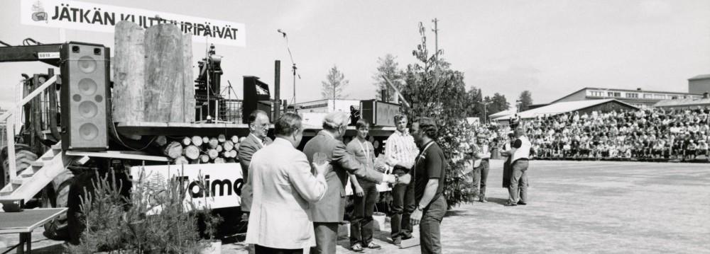 Jätkän kulttuuripäivät – legendaarinen metsätapahtuma 1967–2000
