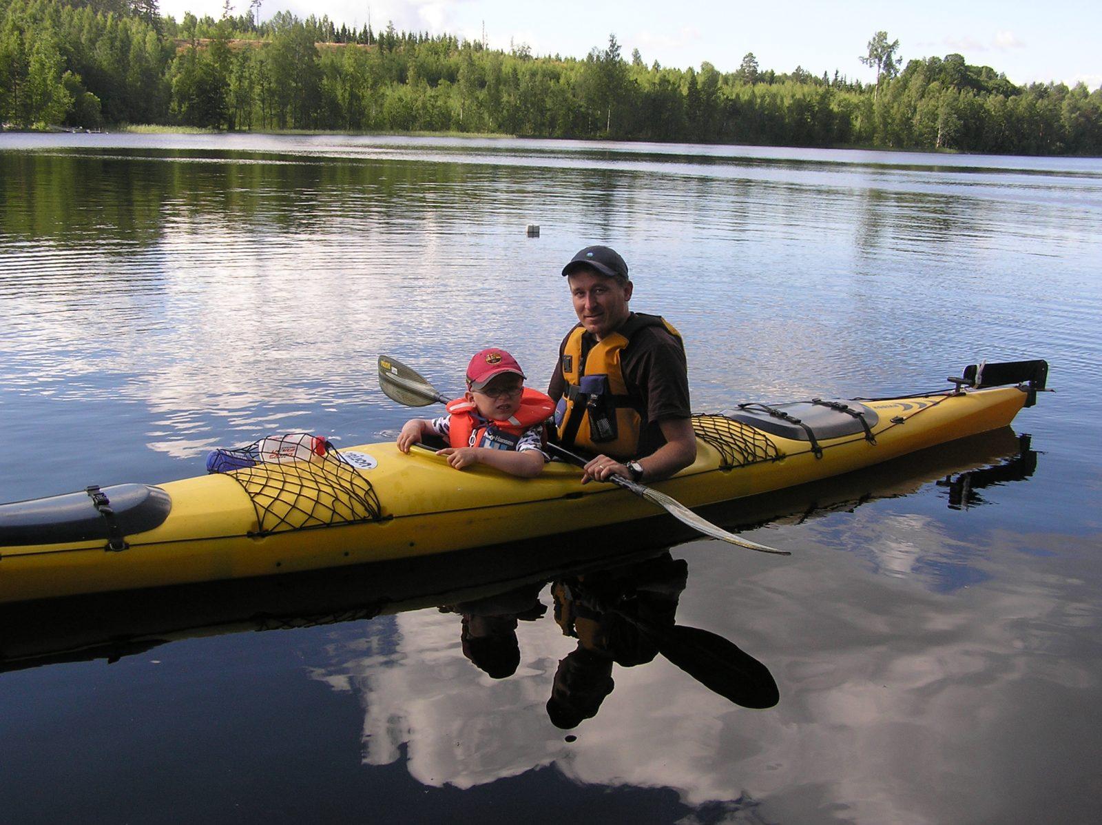 Kayaking trip to Punkaharju Ridgearea