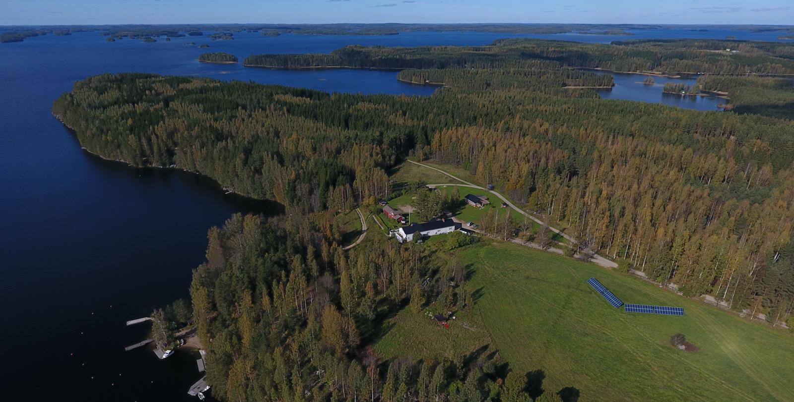Tynkkylän Lomaniemi в районе Пункахарью