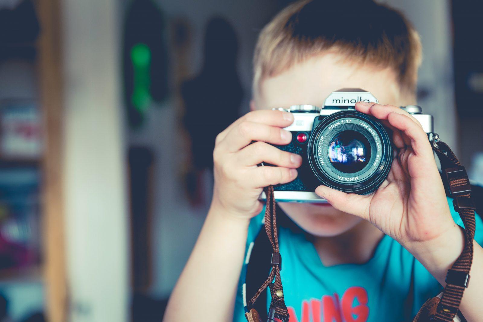 Valokuvausleiri lapsille ja nuorille
