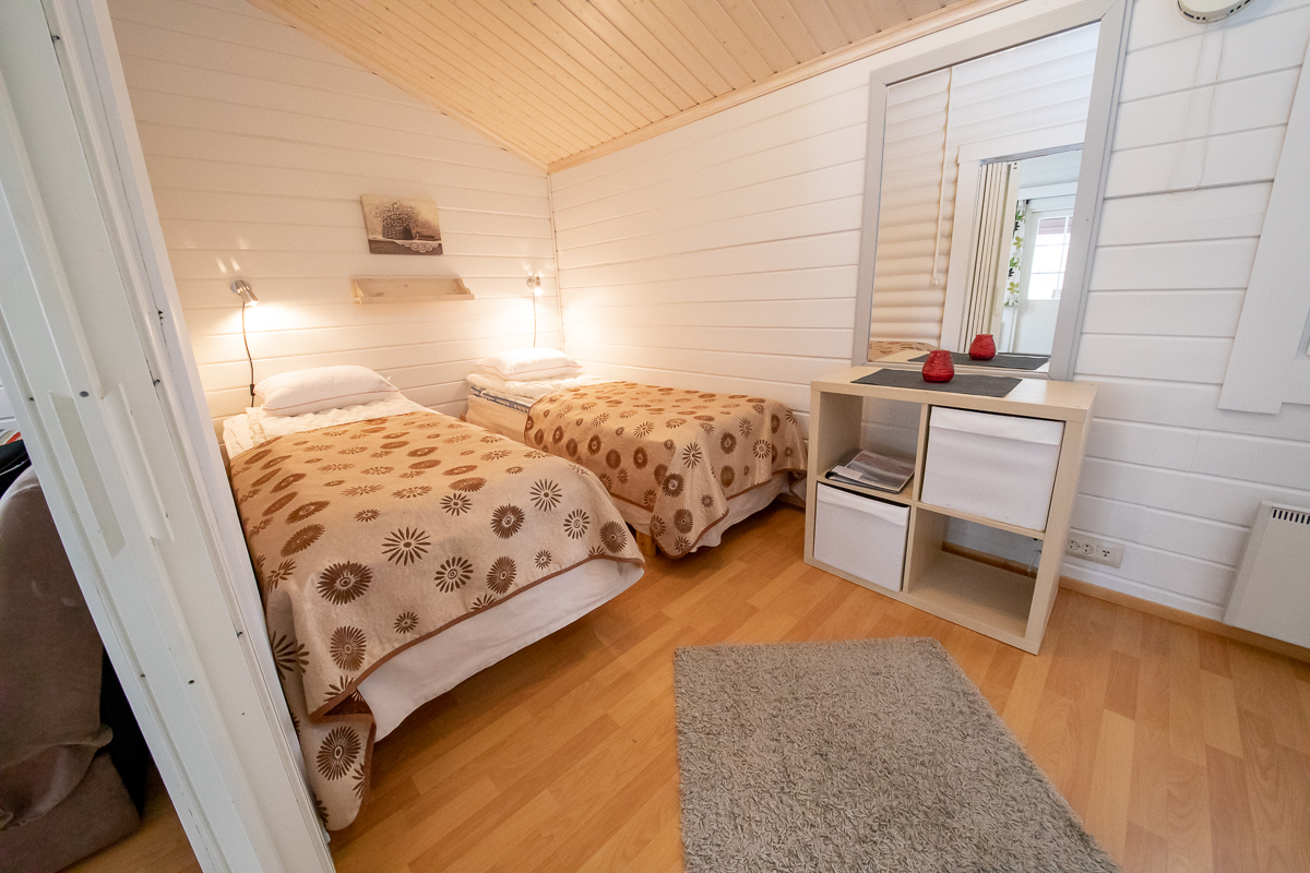 One bedroom cottages with sauna in Punkaharju